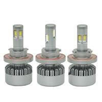 4 CSP JGAUT H1 H3 H4 H7 H11 H13 H15 Car LED Headlight H27 9004 9005/HB3 9006/HB4 9007 880 9012 8000LM 70W 12V Fog Light V10
