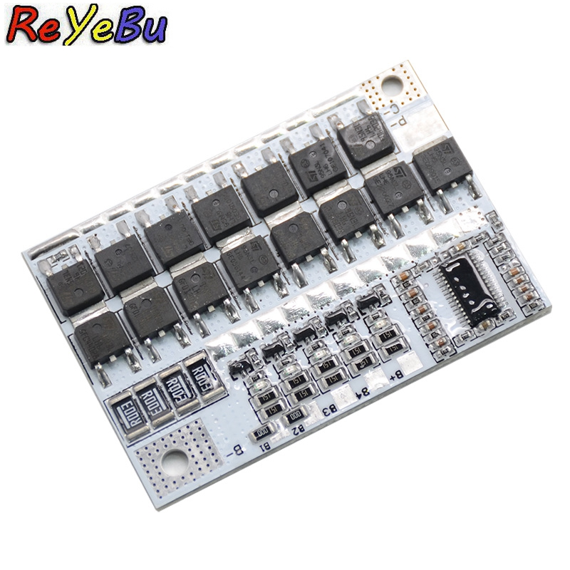 5S 12V 100A BMS Li-ion LMO Ternary Lithium Battery Protection Circuit Board Balance Charging Board Module5S 12V 100A BMS Li-ion LMO Ternary Lithium Battery Protection Circuit Board Balance Charging Board Module