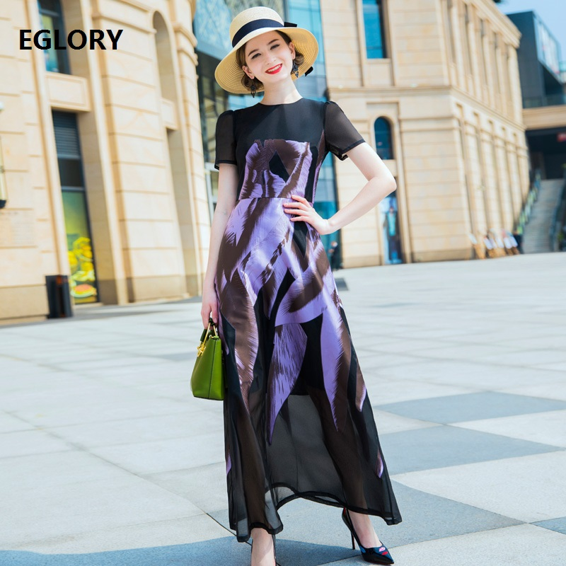 Здесь продается  New Plus Size XXXXL Women Summer Long Dress 2018 Vintage 1950s Style Female Abstract Print Short Sleeve Party Luxury Dress Long   Одежда и аксессуары