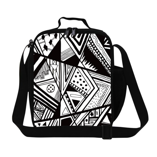 Teen Boys lunch bag for school,Personalized Insulated Lunch Container for Girls,square thermal crossbody lunch box bag picnic