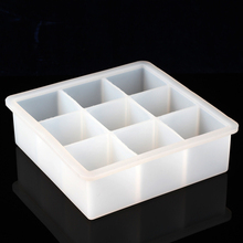 9-holes Bar Loaf Cake Mold Mould Soap Silicone Flexible