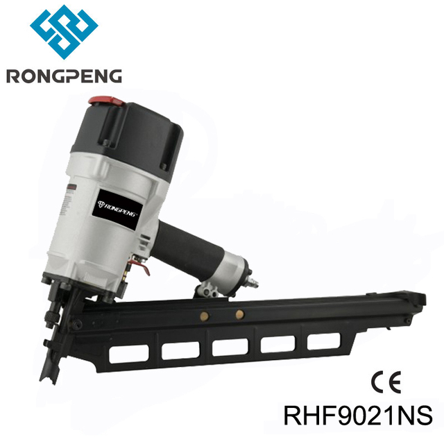 RONGPENG HEAVY DUTY 3 1/4 INCH PAPER COLLATED FRAMING NAILER RHF9021NS 21