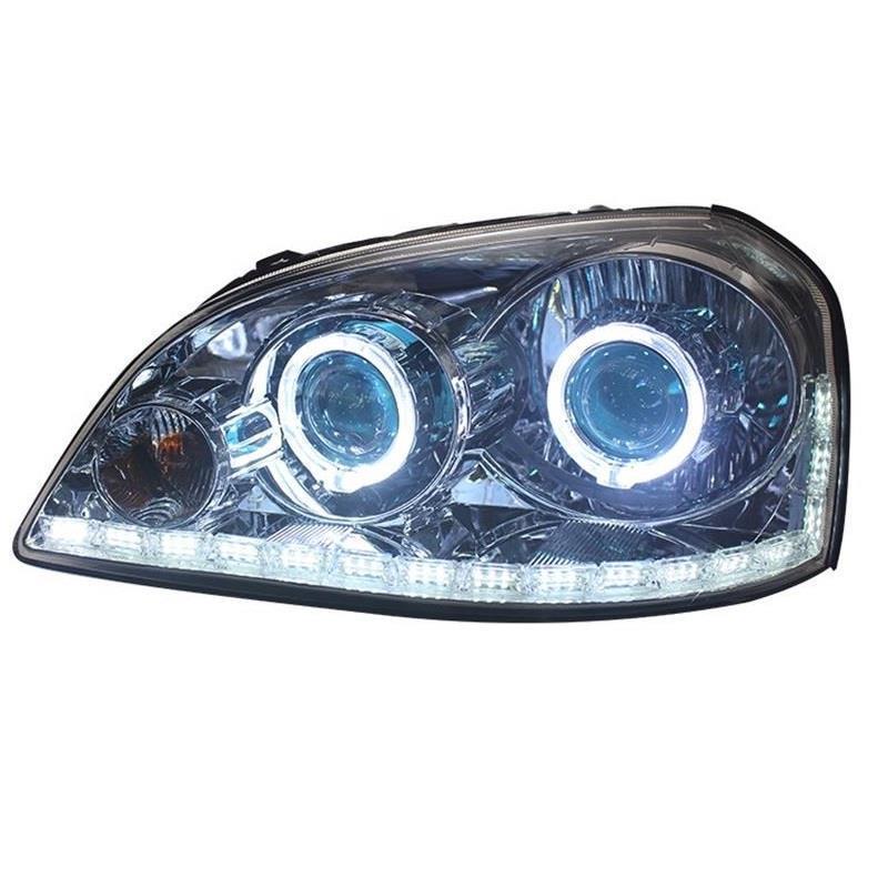 Drl Side Turn Signal Peças Exterior Conjunto Da Lâmpada Cob Levou Luzes de Circulação Diurna Faróis de Iluminação Do Carro PARA Buick Excelle