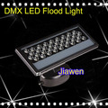 2 pçs/lote, 24 W 36 W luz de inundação à prova d' água LEVOU arruela da parede RGB stage luz por controle DMX FRETE Grátis