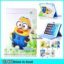 New The Beautiful Cartoon Good Pill PU Leather-based Cowl Shell Coque Case For Apple iPAD 6 Air 2 Shell Conque Capa Pill Case