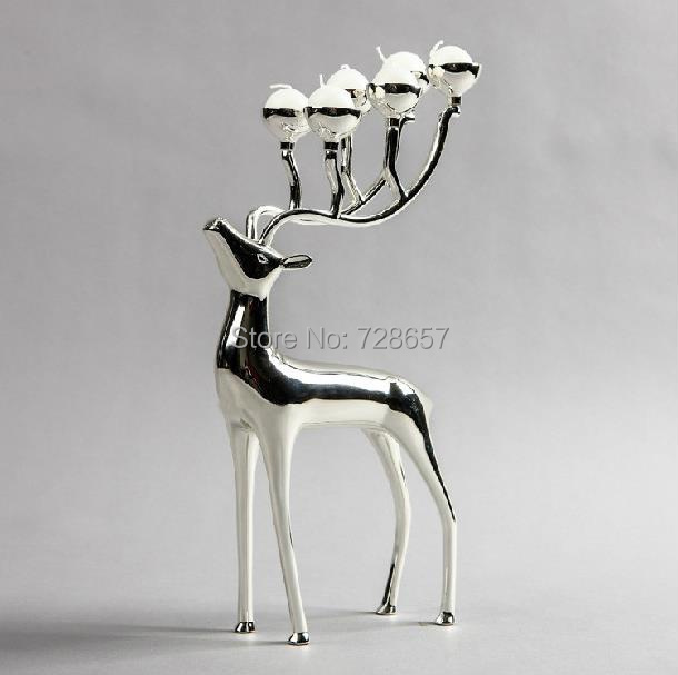 Compare Prices on Metal Reindeer Candle Holder- Online Shopping ...