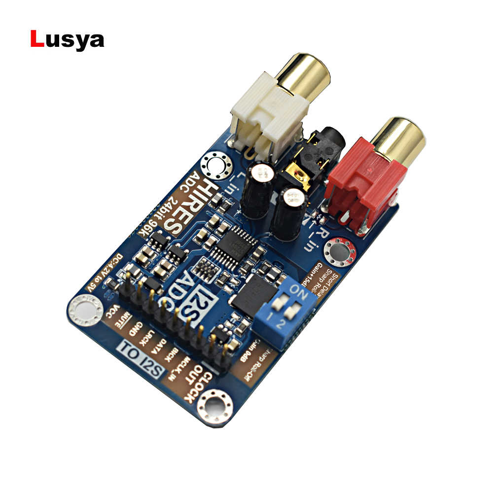 HIRES level lossless digital audio I2S ADC decoder Support 24bit 96K I2S Signal output A1-003