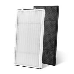 Fit voor amway 101076CH of 10-1076 TH Luchtreiniger Filter HEPA Filters + Carbon filter