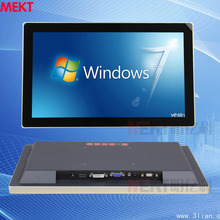 15.6-inch monitor embedded Multi-touch monitor metal shell 16:9 widescreen capacitive touch monitor pc monitor(China (Mainland))