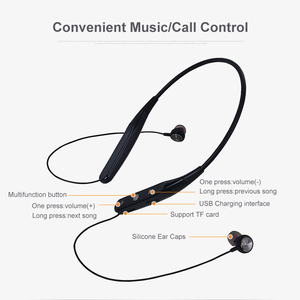 Image 5 - YODELI 733 Bluetooth Earphone Sport Wireless Headphones Support TF Card Handsfree Headset with Mic for Xiaomi iPhone Phone