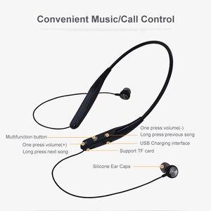 Image 5 - YODELI 733 Bluetooth słuchawki bezprzewodowe słuchawki sportowe wsparcie TF karty bezobsługowy zestaw słuchawkowy z mikrofonem do telefonu iPhone Xiaomi