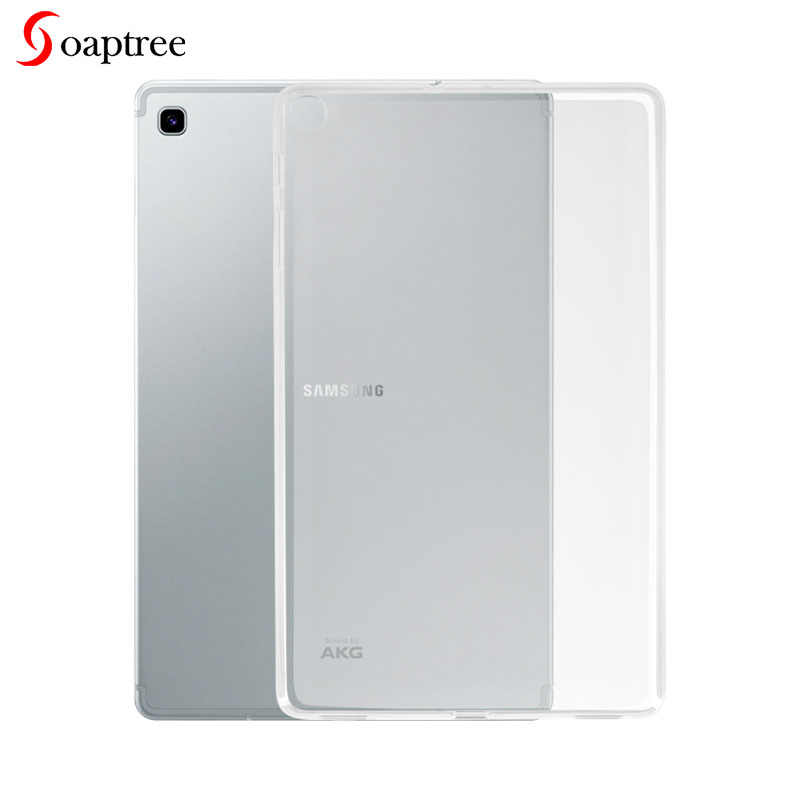 Transparent Case For Samsung Galaxy Tab A 10.1 S5E 10.5 2019 T515 T720 T725 Cases Soft TPU Cover for Samsung Tab A 8 2019 8.0