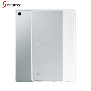 Transparent Case For Samsung Galaxy Tab A 10.1 S5E 10.5 2019 T515 T720 T725 Cases Soft TPU Cover for Samsung Tab A 8 2019 8.0(China)