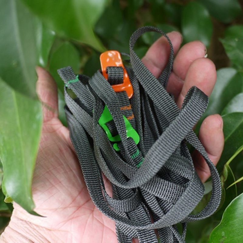 High Quality Durable Quick Release Luggage Strap with Stainless Steel Hook Outdoor Tool