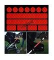 Горячие продать светящиеся наклейки 13 наклейки для колясок, велосипедные шлемы и многое другое