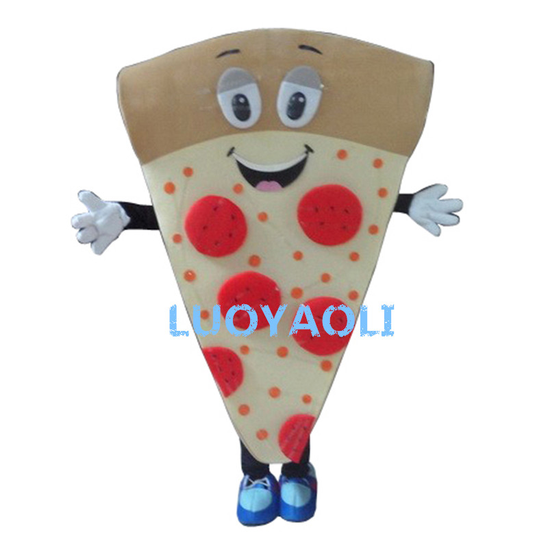 New Pizza Mascot Costume Custom Fancy Dress Cosplay Cartoon Mascot Costume Carnival Costume Fancy Costume