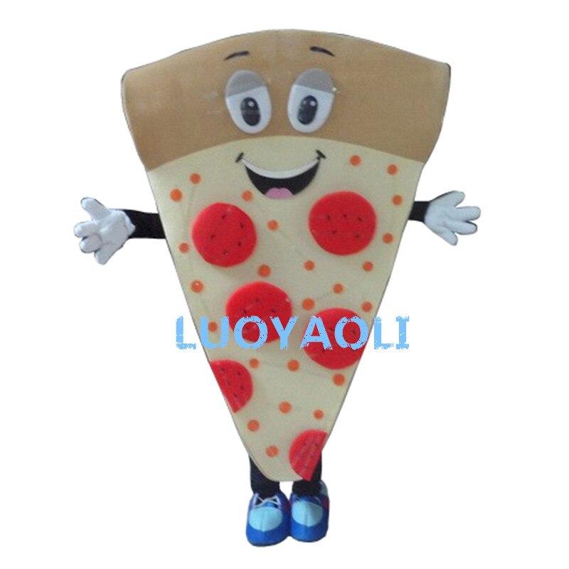 Nouveau Costume de mascotte de Pizza déguisement personnalisé Costume de mascotte de dessin animé Cosplay Costume de carnaval Costume fantaisie