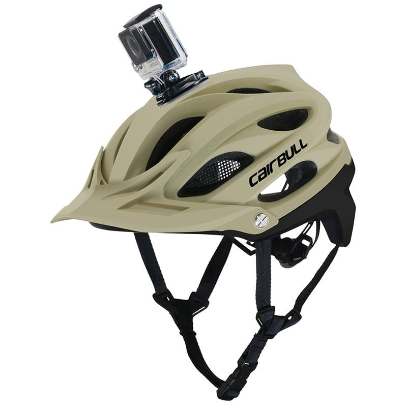 New AllSet Camera Installable Bicycle Helmet MTB OFF-ROAD Cycling Bike Sports Safety Helmet Super Mountain Bike Helmet BMX khakiNew AllSet Camera Installable Bicycle Helmet MTB OFF-ROAD Cycling Bike Sports Safety Helmet Super Mountain Bike Helmet BMX khaki