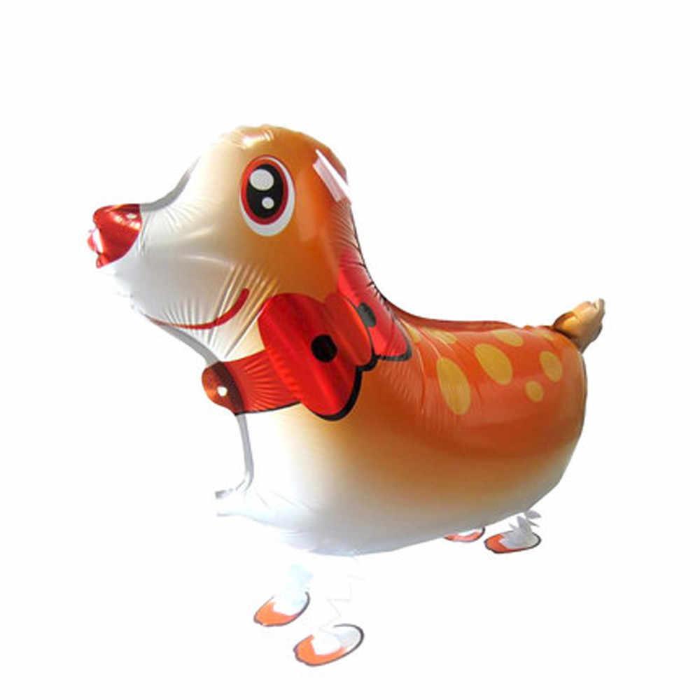 키즈 11ypes 걷는 동물 풍선 귀여운 고양이 개 토끼 팬더 개구리 키티 풍선 애완 동물 공 파티 생일 장식