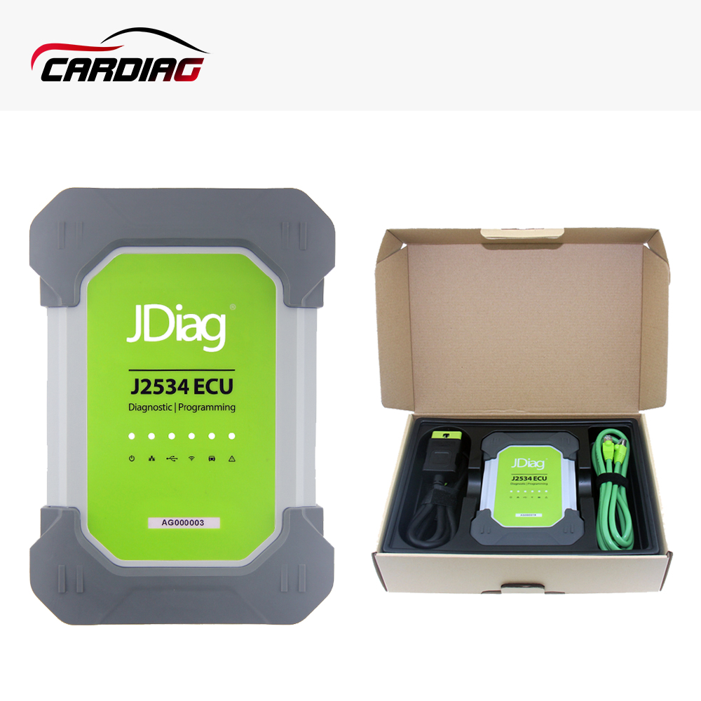 Jdiag elite ii pro j2534 yes and no auto diagnostic tool with app
