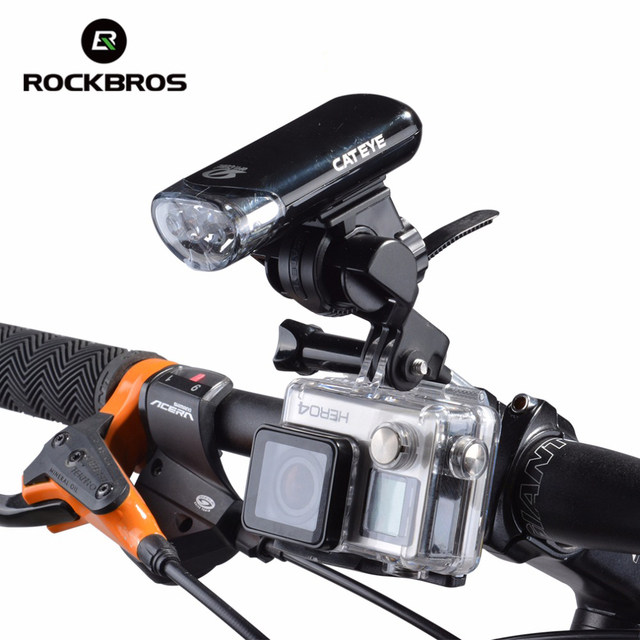 ROCKBROS Aluminum Alloy Bike Bicycle Handlebar Extended Holder For Speedometer Light Phone Bicycle Accessories Extended Mount