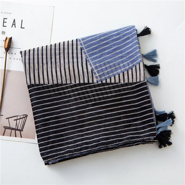 Stripe Women Scarf Color...