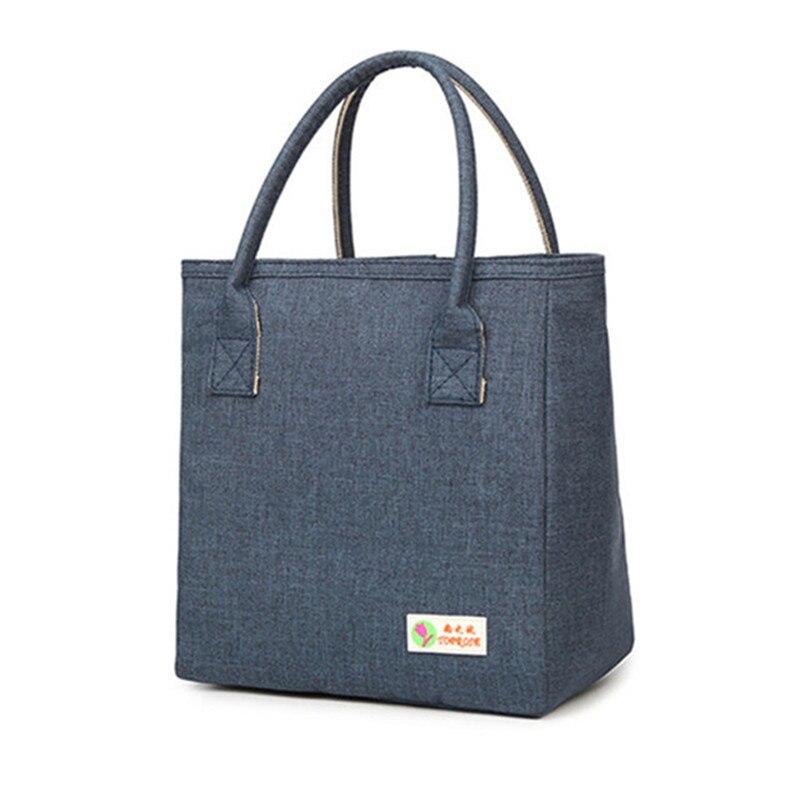 100% QualitäT Oxford Luxus Mittagessen Tasche Für Frauen Kinder Männer Kühler Lunch Box Taschen Organizer Handtasche Wasserdichte Thermische Lebensmittel Obst Taschen Paket