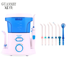 Ирригатор для полости рта, зубная нить, зубная нить, 500 мл, резервуар для воды, водонепроницаемый очиститель зубов, Электрический ирригатор для носа и рта