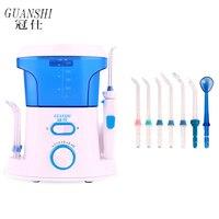 Oral Dental Irrigator Water Flosser Dental Floss 500ML Water Tank Waterproof Teeth Cleaner Electric nose and mouth irrigator