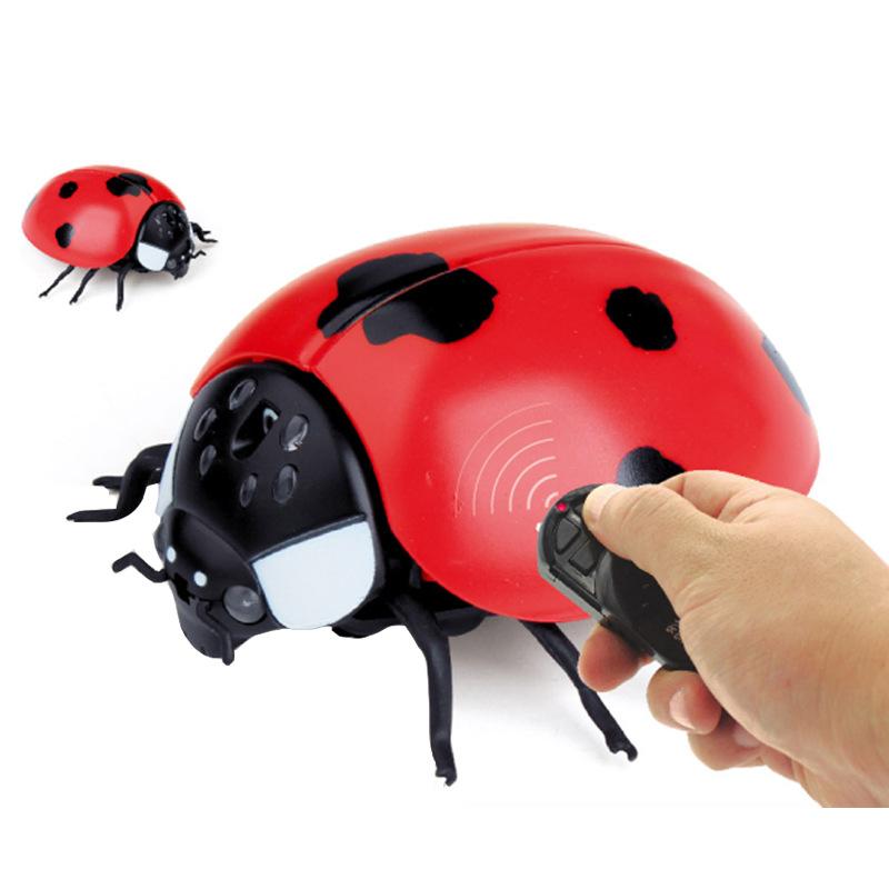 US $11 43 39% OFF|Funny Simulation Infrared RC Remote Control Scary Creepy  Insect Bee Fly Housefly Toys Robot anti stress Gift For Adult Children-in