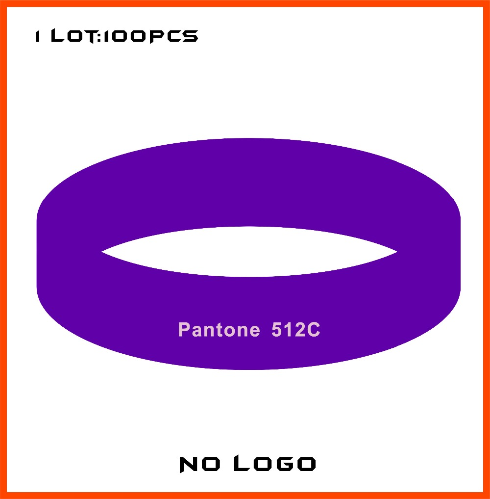 Lot Free Shipping High Quality Pantone 512c Custom Rubber Bands For  Promotional Gifts B674