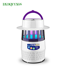 Electronic Mosquito Killer Trap Moth Fly Wasp Led Nigh Lamp Bug Insect Light Black Killing Pest Zapper EU US Plug Mosquitoes