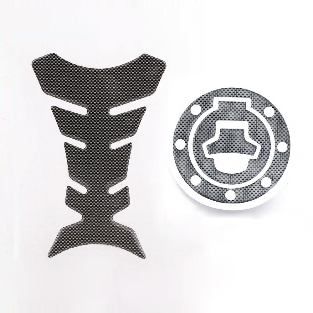 Nieuwe Carbon-Look Brandstoftank sticker Pad + Gas Cap Pad Cover Sticker Case voor Suzuki Katana GSX 600F 750F R 600 750 TYGT003