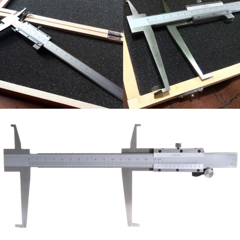 All'interno Groove Vernier Caliper 9-150mm/0.02 Interno In Acciaio Inox Vernier Calibri Doppio Artiglio Professionale