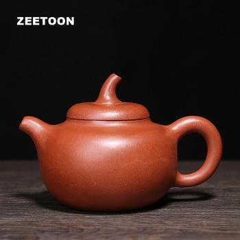240ml Authentic Yixing Teapot Eggplant Pot Health Care Purple Clay Master All Handmade Chinese Kung Fu Tea Set Red Mud Tea Pot