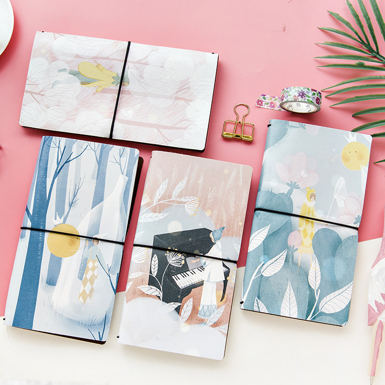 все цены на PU Leather Cover Planner Notebook Light Travel Journal Diary Book Exercise Composition Binding Note Notepad Gift Stationery 2018 онлайн