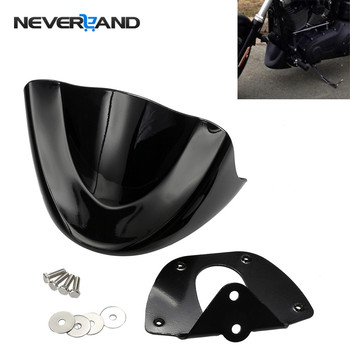 Lower Chin Front Spoiler Chin Air Dam Fairing Mudguard For Harley Dyna FXD FXDB 2006-2017 2007 2008 2009 2010 2011 D35