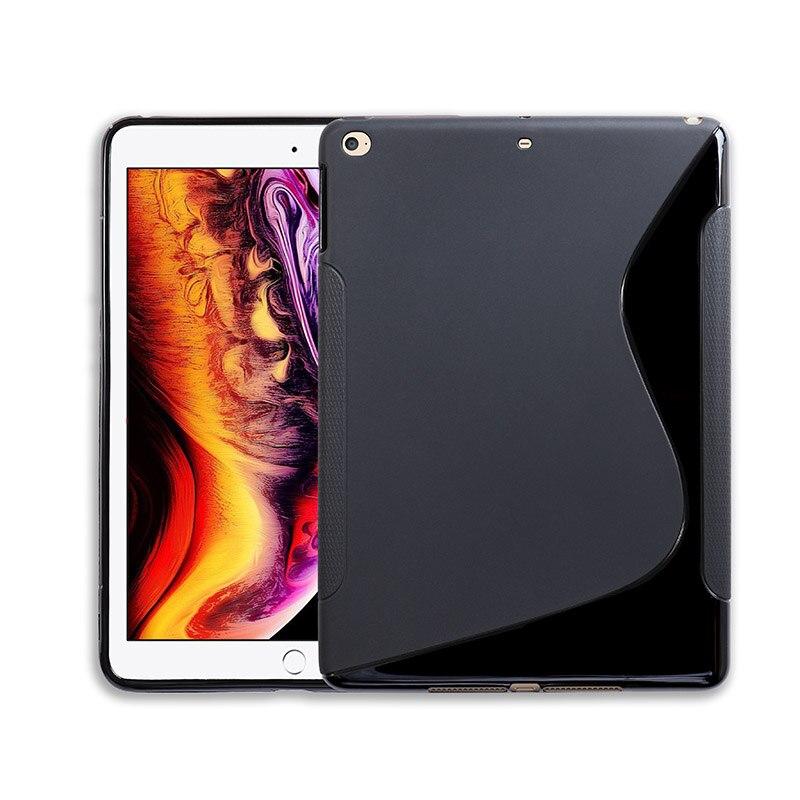 SLINE Black Cover Case For Apple iPad 9.7 2017 Mini 1 2 3 Case Silicon Air 2 Air2 Mini1 Mini2 Mini3 Soft Tablet iPad 6 iPad6SLINE Black Cover Case For Apple iPad 9.7 2017 Mini 1 2 3 Case Silicon Air 2 Air2 Mini1 Mini2 Mini3 Soft Tablet iPad 6 iPad6