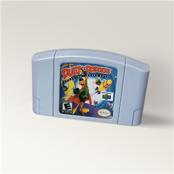 Looney Tunes Duck Dodgers Starring Daffy Duck Game Cartridge For 64 Bit Video Game Console USA