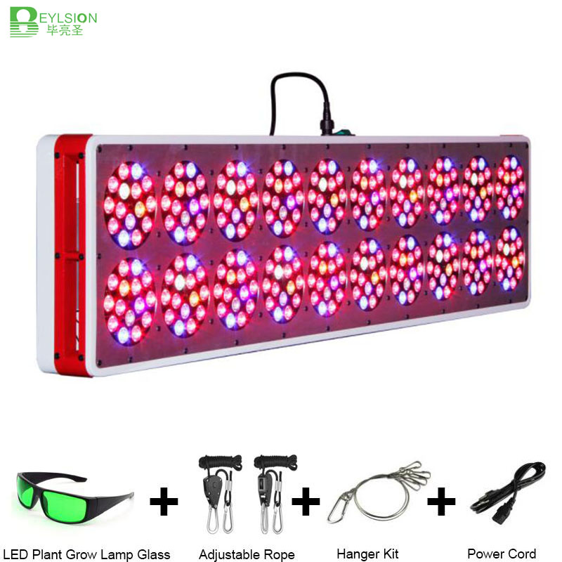 Beylsion 1500W Apollo 20 Full Spectrum Growing Light For Plants Red Blue color For Plants Vegetative and Flower Seeds