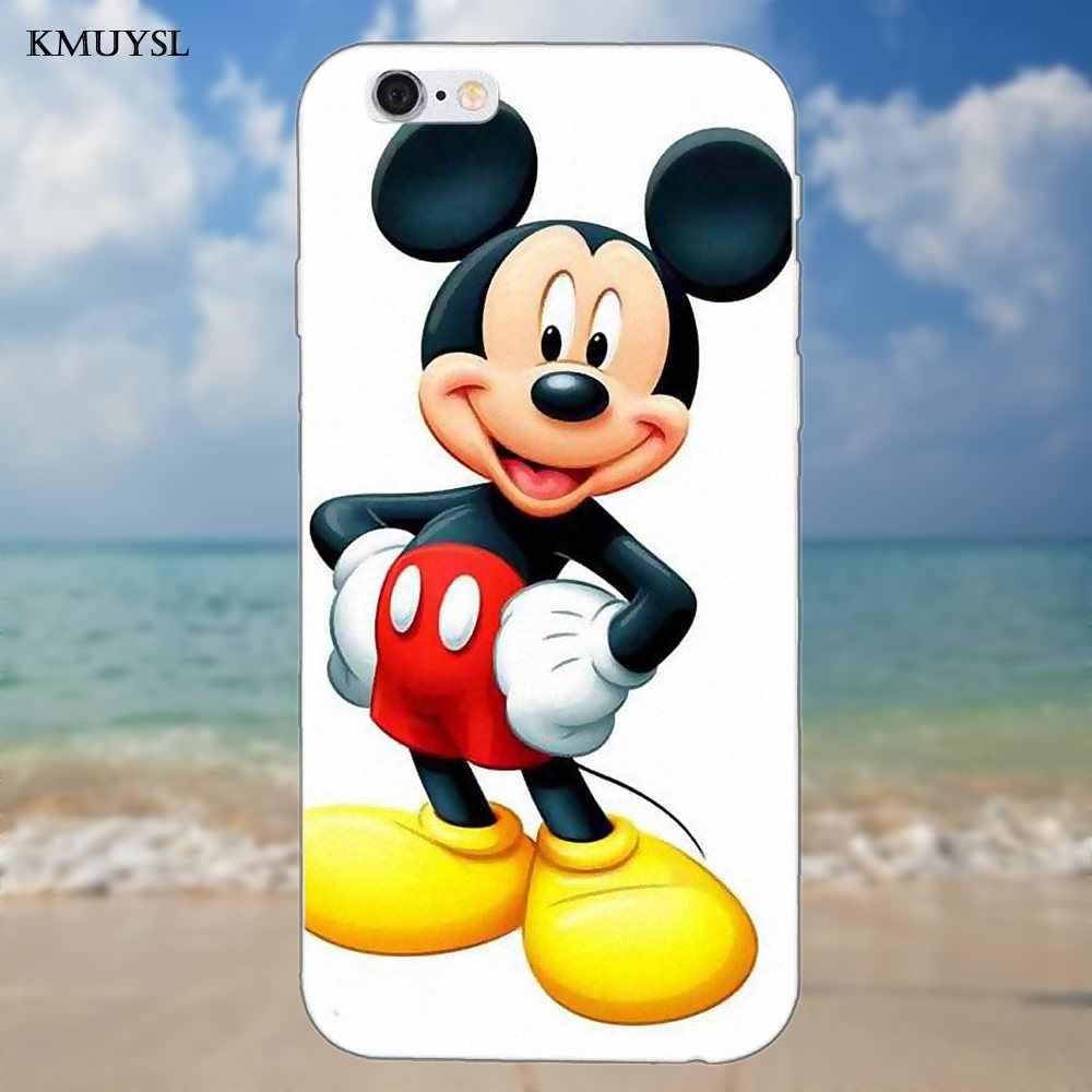 Прекрасный Микки Мышь хип для Iphone 4 4s 5 5C SE 6 6 S 7 8 Plus iPhone X Galaxy S5 S6 S7 S8 большое ядро II рrime alрha мягкий чехол из полиуретана с принтом