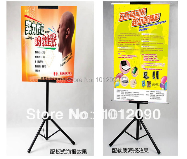 free shipping to singapore custom poster board tripod hanging banner