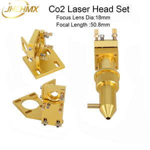 Image 2 - JHCHMX High Quality Co2 Laser Head Set for Model 2030 4060 K40 Small Co2 Laser Cutting Machines Co2 Laser Head Accessories