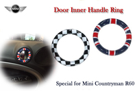4pcs Lot PC Internal Interior Handle Ring Cover Special For Mini Countryman R60 Car Styling Decoration
