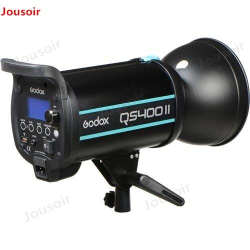 Godox QSII serie QS400II 400Ws Strobe Flash luz de modelado 5600 K de temperatura de Color CD50