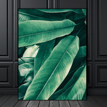 Wall Painting Poster Art Modular Modern Plant decoration for Home Office Decorations green Leaf canvas painting top sell