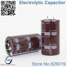 12pcs/lot 400v 1000uf Radial DIP Aluminum Electrolytic Capacitors size 35*60 1000uf 400v Tolerance 20%