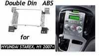Double Din Fascia Rádio Do Carro para HYUNDAI H1 Starex iLoad Kit de Instalação Unidade Central Traço Facia Face Plate Painel i800 iMax quadro