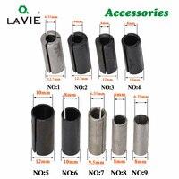 La vie 1pc cnc 라우터 비트 고정밀 어댑터 콜렛 밀링 커터 공구 어댑터 홀더 6mm 6.35mm 8mm 10mm 12mm 12.7mm 4001