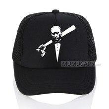 Grandwish Vladimir Putin Baseball caps Men Character Printed Mens cap summer Mesh Russia President hat